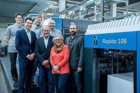 PMS Offsetdruck further invests in Koenig & Bauer's post-press systems