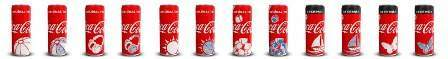 Coca-Cola Turkey uses thermochromic inks on beverage cans
