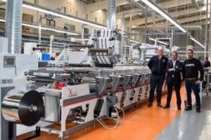 Spanish label printer Coreti invests in three OMET's presses