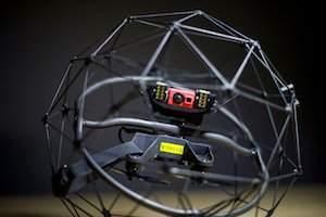 Flyability's Elios drone inspects beer bottling plant in Czech Republic