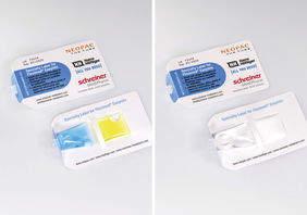 Schreiner MediPharm develops novel Label for Pharmaceutical two-chamber tube