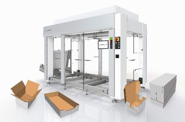 Schubert unveils preconfigured case packer for carton packaging