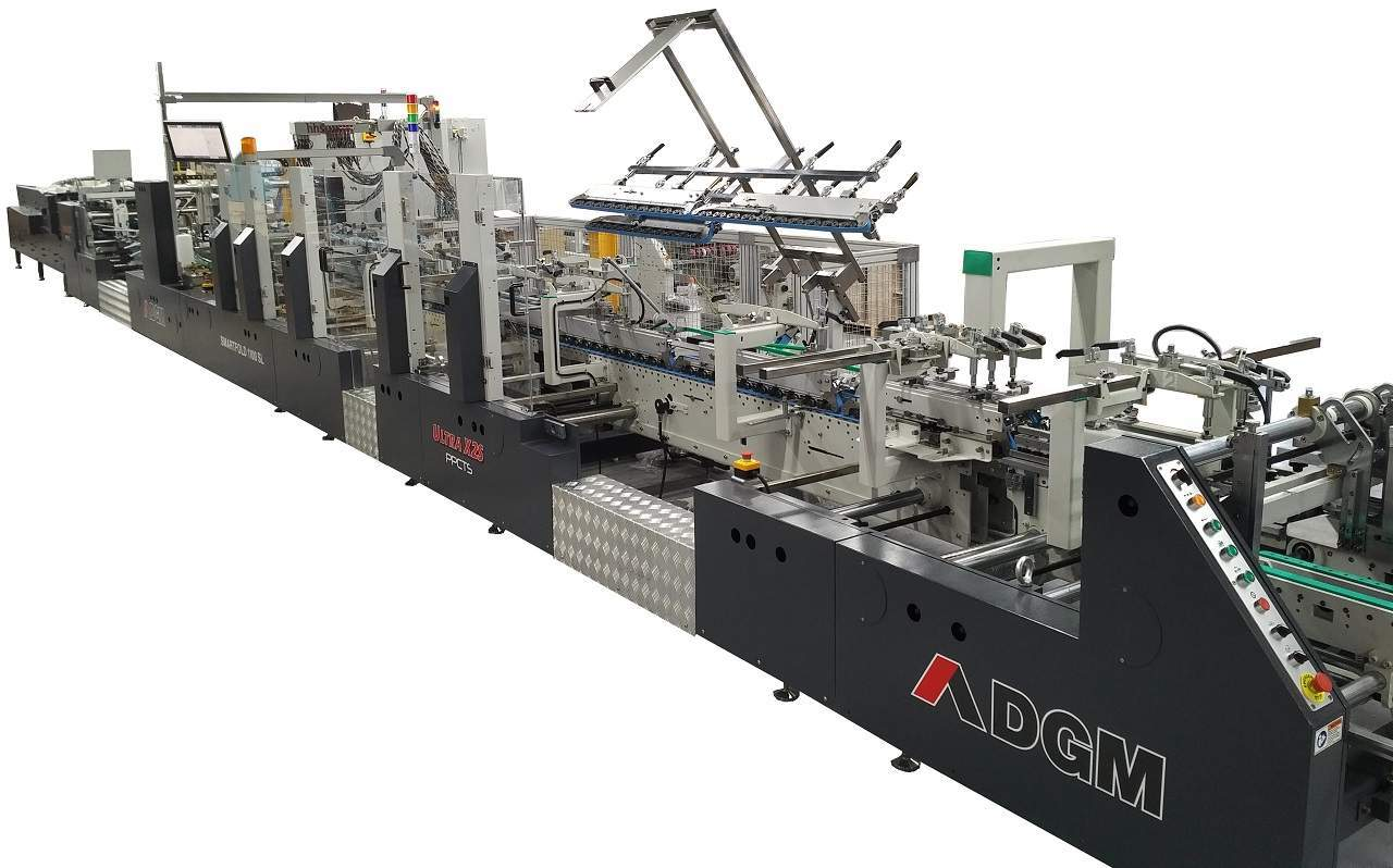 Mega Packaging installs PPCTS' Smartfold 1100sl Ultra X2S folder gluer