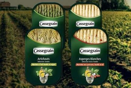 Bonduelle selects Ardagh's rectangular can for Cassegrain range