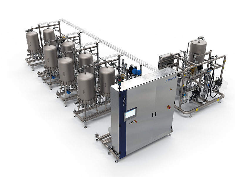 Krones UniPure system ensures crystal-clear premium products