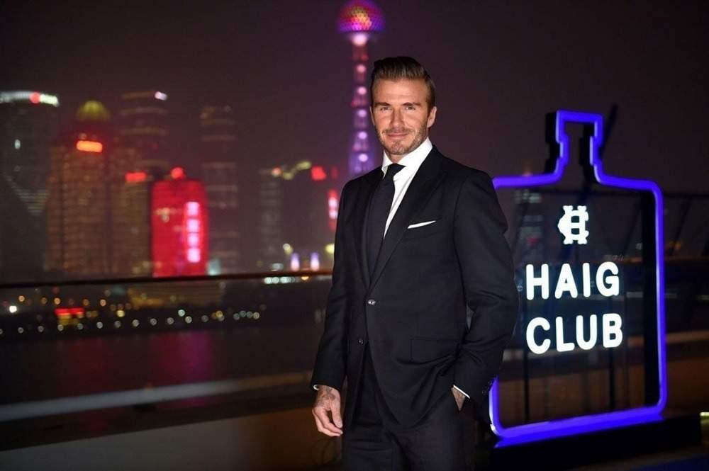 David Beckham Haig Club Shanghai 1