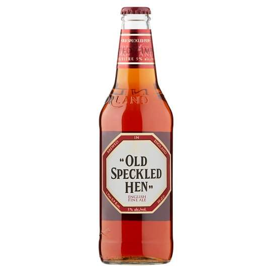 Old Speckled Hen, classic packaging