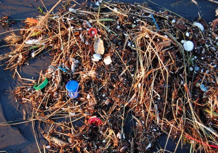 Plastic on the beach Flickr Kevin Krejci