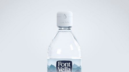Danone adds hydration coach cap to Font Vella natural mineral water brand