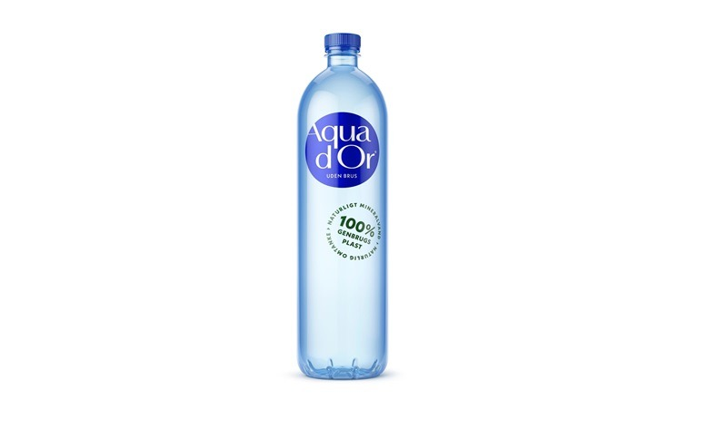 Aqua d'Or to launch 100% recycled PET bottle in Denmark