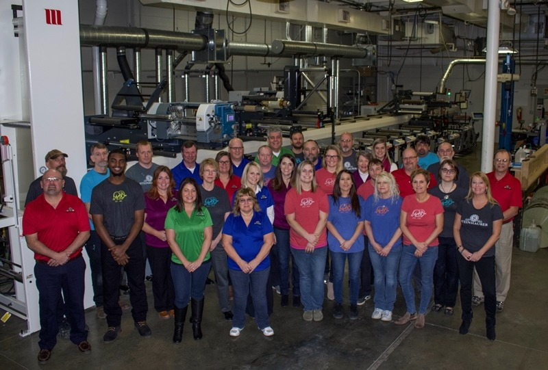 Steinhauser installs MPS flexo press to meet quality requirements
