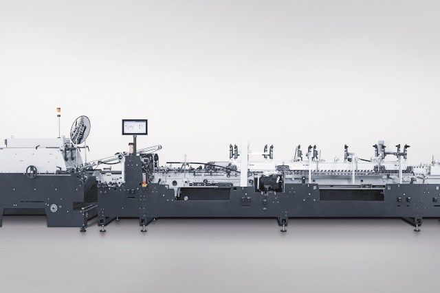 Heidelberg, MK Masterwork unveil Diana Go folder gluer for packaging market