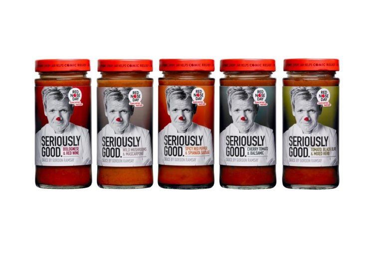 Seriously Good sauces jars