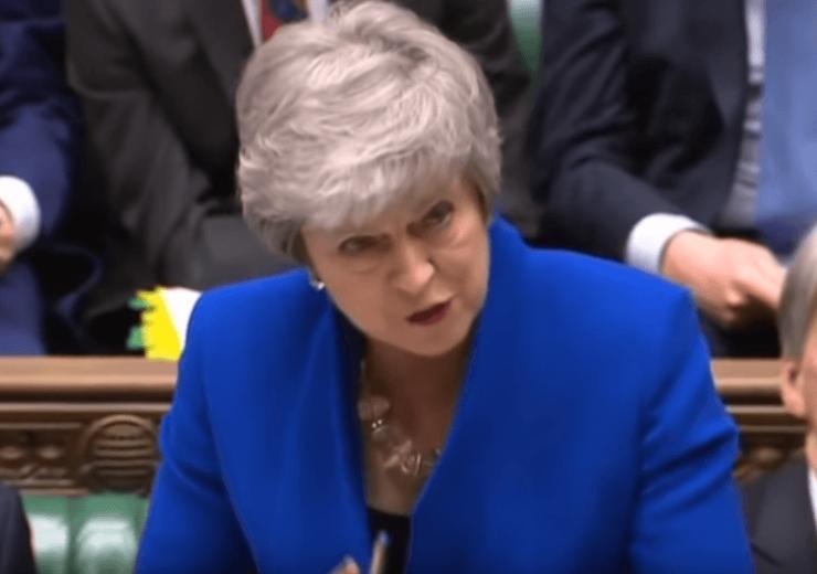 Theresa May Parliament (YouTube-UK Parliament)