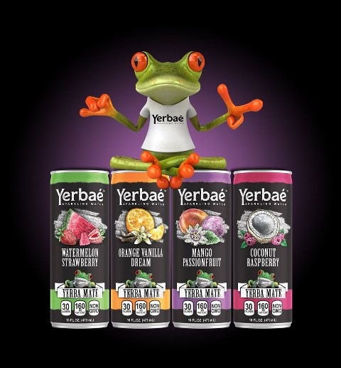 Yerbaé sparkling water extends brand in 16 oz Ardagh cans
