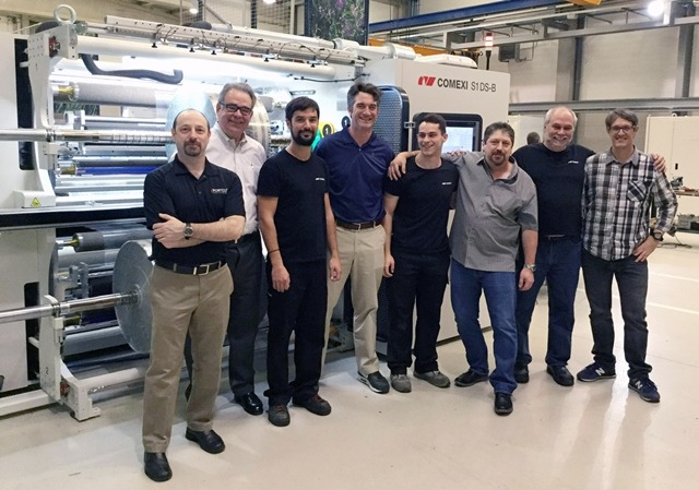 Portco Packaging invests in Comexi S1 DS slitter with laser technology
