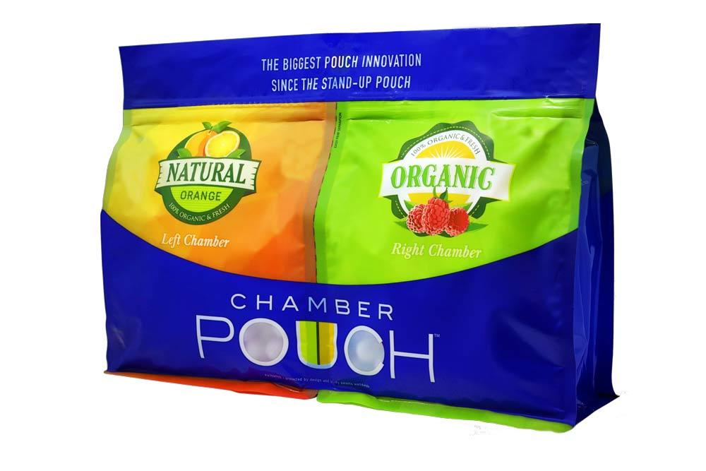 Chamber Pouch introduces dual-chamber stand-up pouches