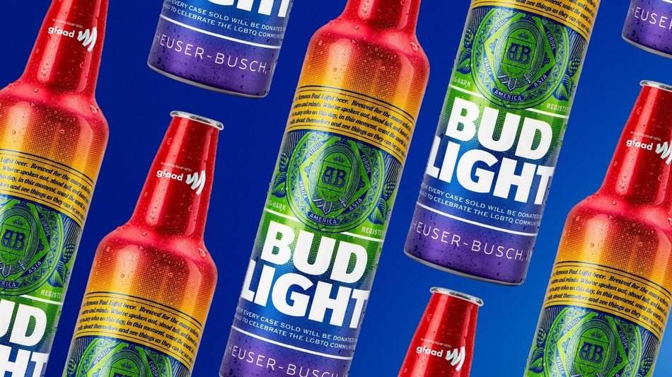 Bud Light to launch rainbow-inspired bottles benefiting GLAAD