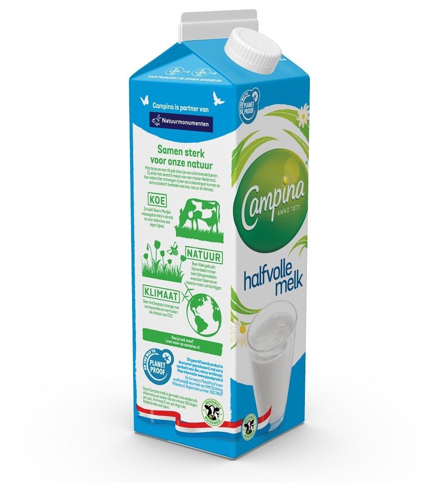 FrieslandCampina selects Elopak's cartons for PlanetProof milk