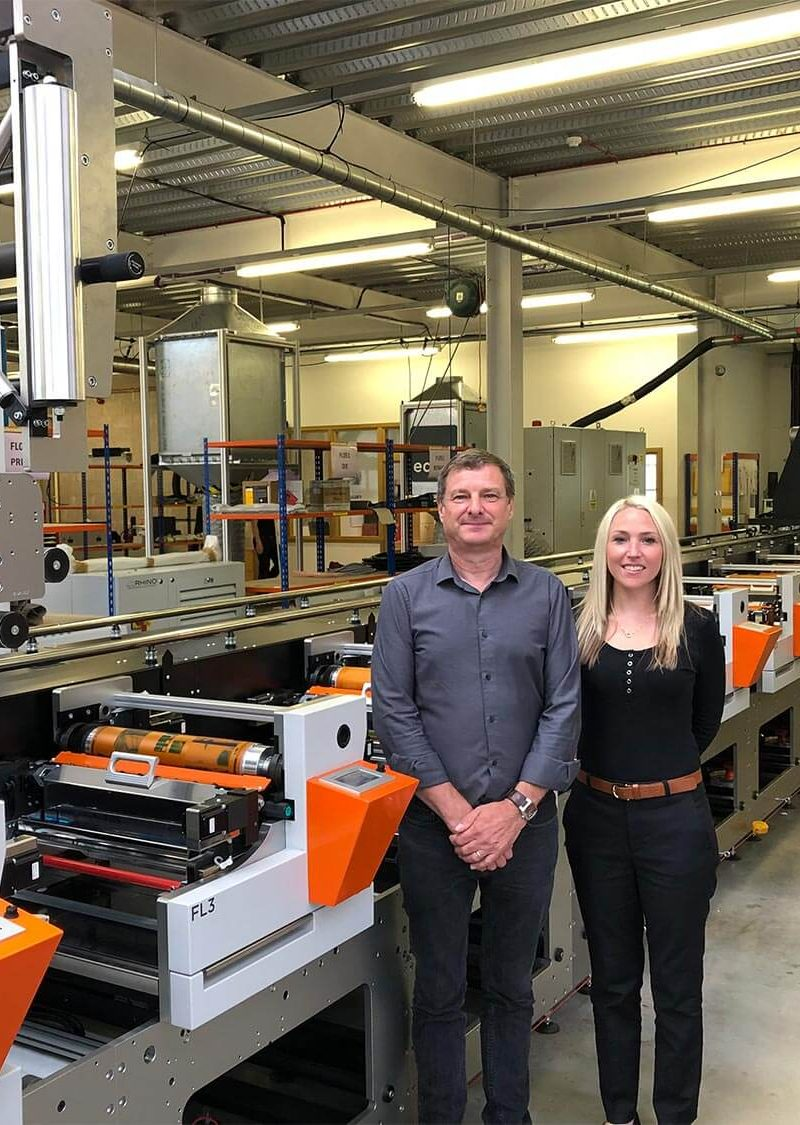 UK's GSH Group invests in Edale FL3 label printing press