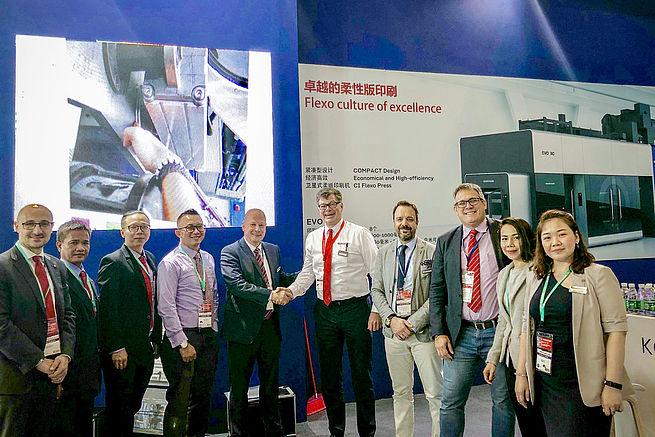 Koenig & Bauer Flexotecnica expands sales network in Southeast Asia
