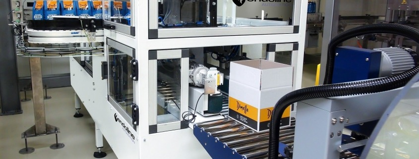 Endoline Machine unveils three-in-one case erecting, packing and sealing solution