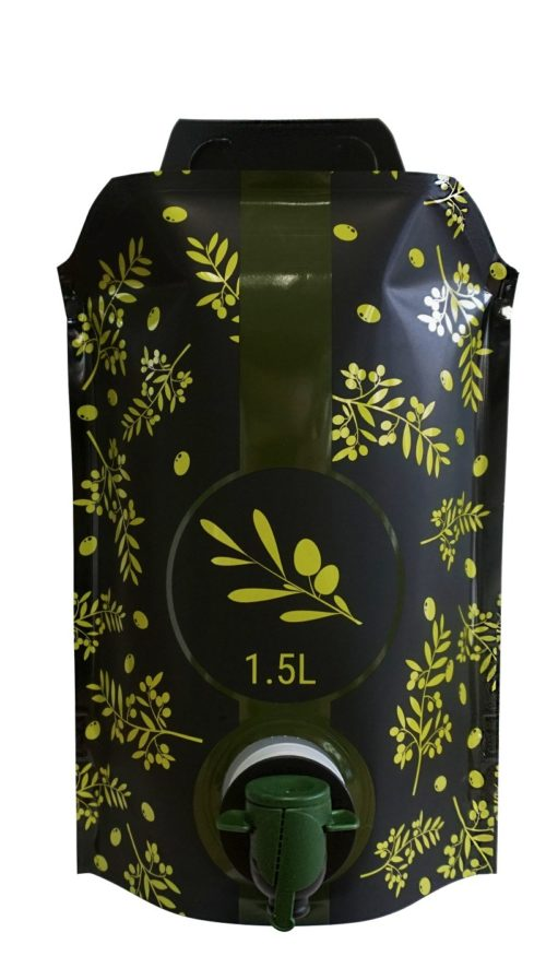 Smurfit Kappa launches new stand-up pouch for olive oil