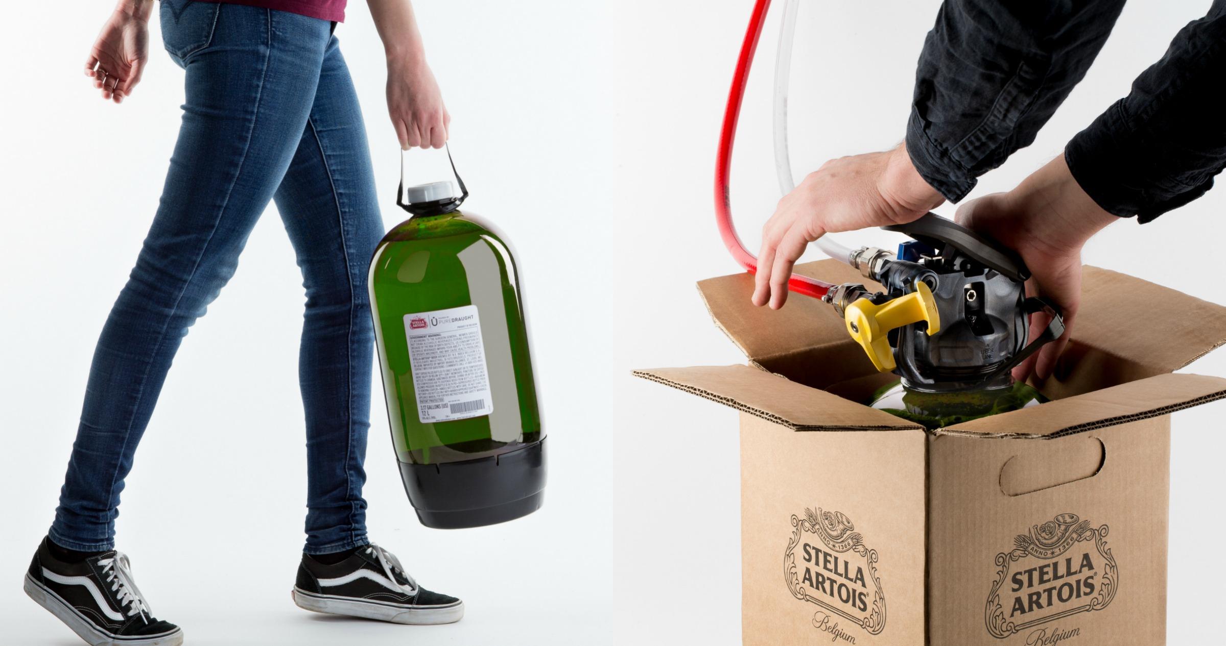 AB InBev introduces PureDraught polymer keg system