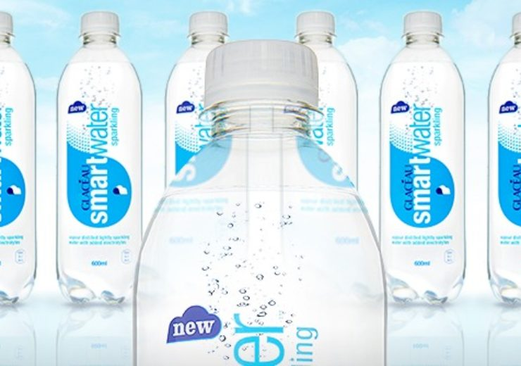 All Glaceau Smartwater bottles to be made from 100% recycled plastic