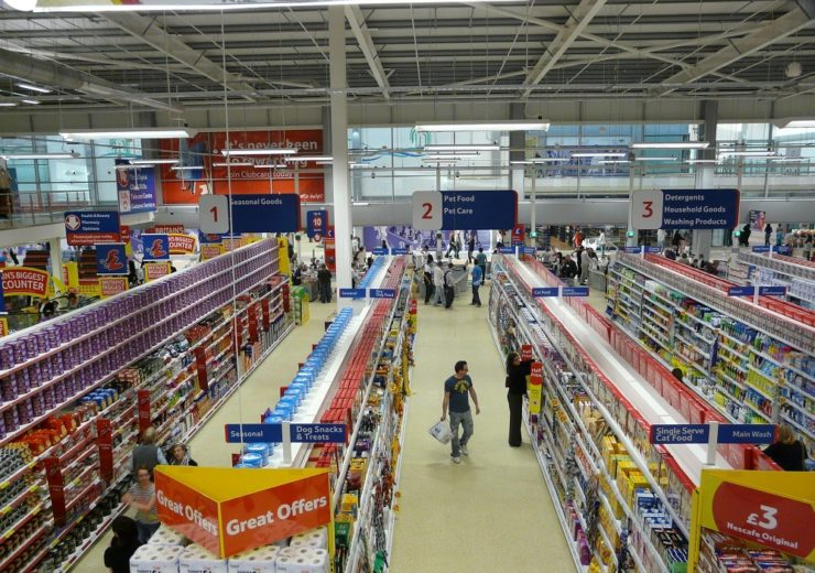 Tesco inside store Wikimedia