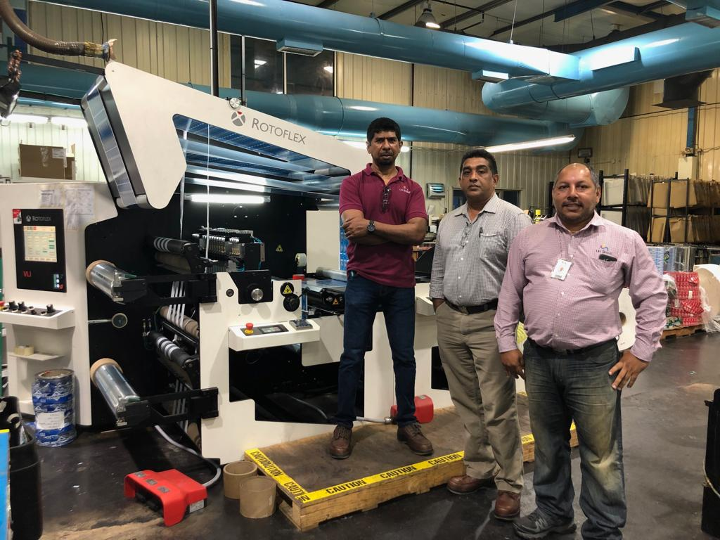 Label House Group invests in Rotoflex VLI-800 inspection, slitting and rewind system