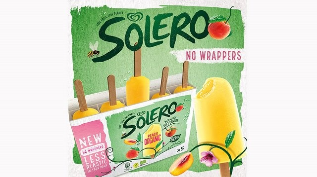 Unilever launches trial of wrapper-less ice-cream multipack with Solero