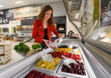 Waitrose food dispenser frozen fruit