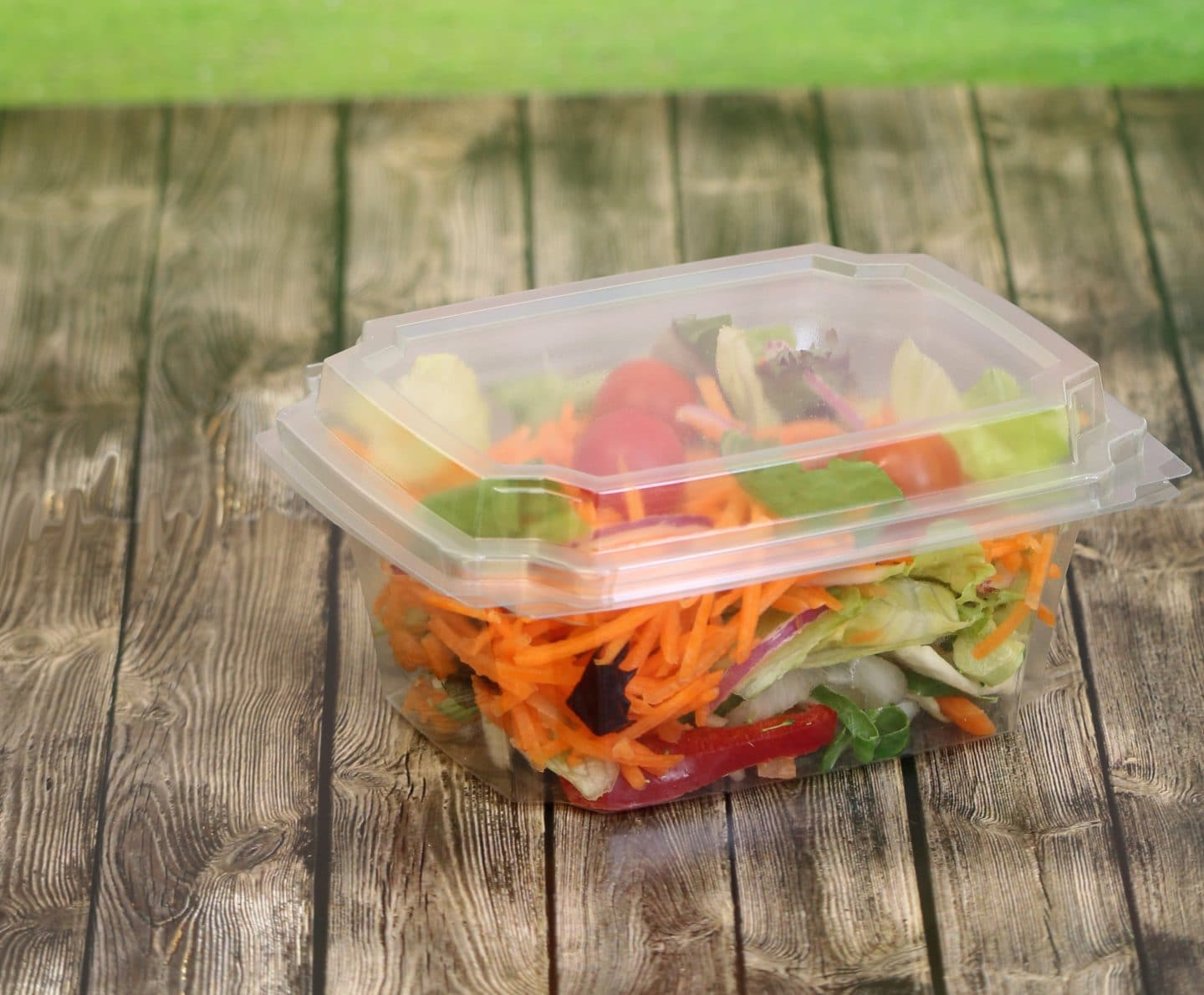 Bunzl Catering Supplies launches 100% recycled salad container