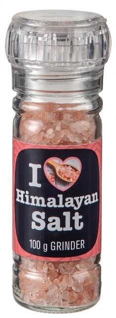 I Love Himalayan Salt Glass Grinder from South Africa