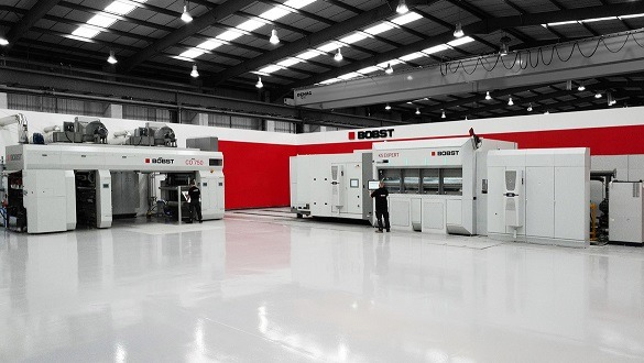 Bobst installs AlOx-optimised CO 750 coating line at Manchester Competence Centre