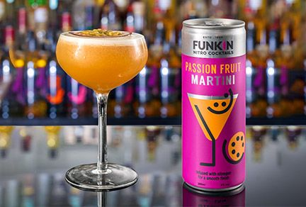 Funkin Cocktails selects Ardagh's nitro can for ready-to-drink cocktail range