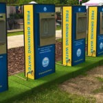 Free water drinking zones supplied by Thames Water (Credit RideLondon)