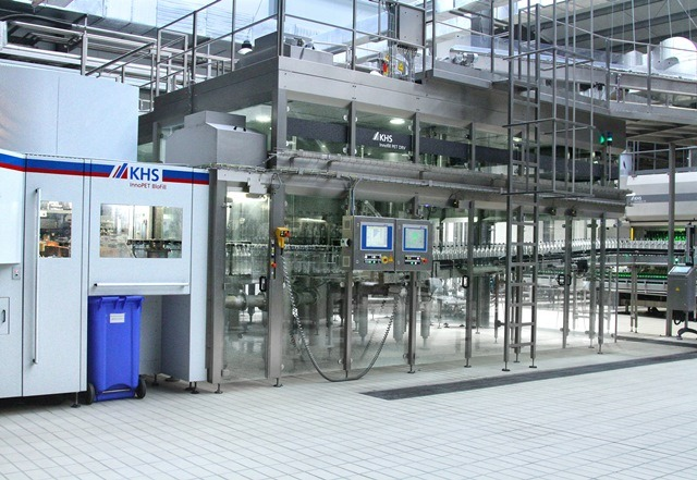 Jermuk expands PET and glass bottle water bottling capacity with KHS technology