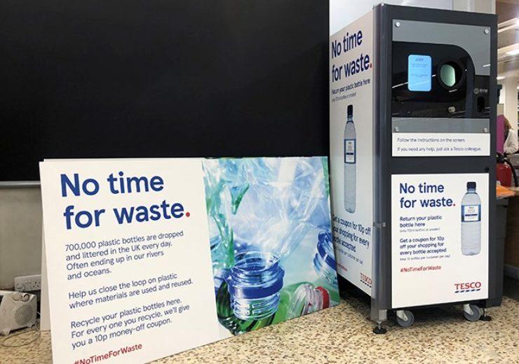 Tesco were one of a handful of UK supermarkets to trial a deposit return scheme (Credit Tesco)