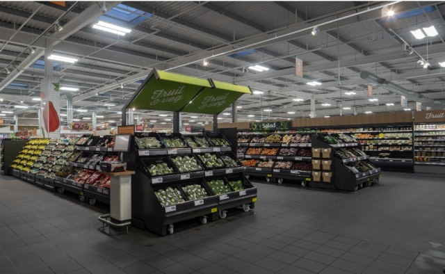 Sainsbury's begins reusable produce bags trial at two UK stores