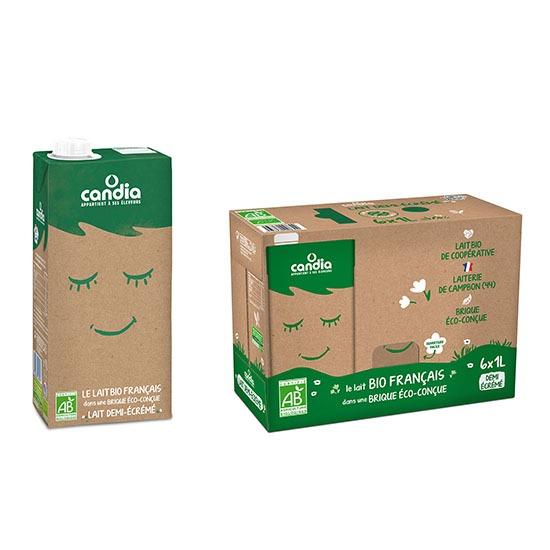 Candia launches organic milk in SIG's aluminium-free carton pack