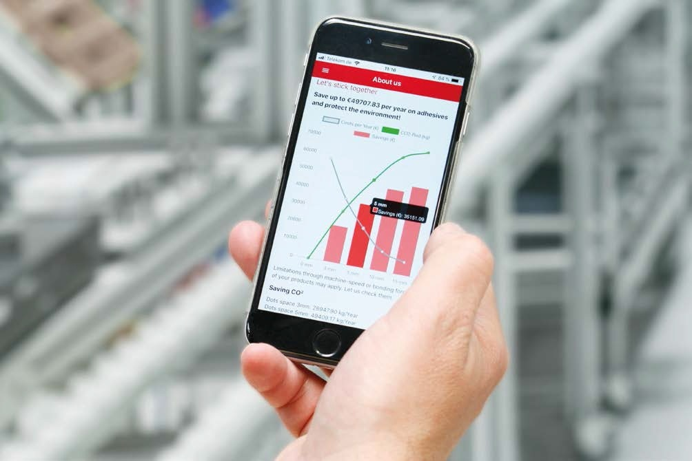 Baumer launches new smartphone app to calculate savings in packaging production