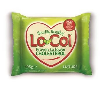 Lo-Col cheese, unveils first new pack design for 10 years