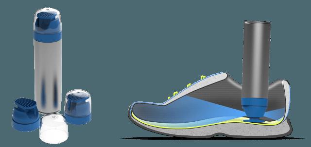 Weener Plastics develops one-piece aerosol spray actuator for shoe deodorant