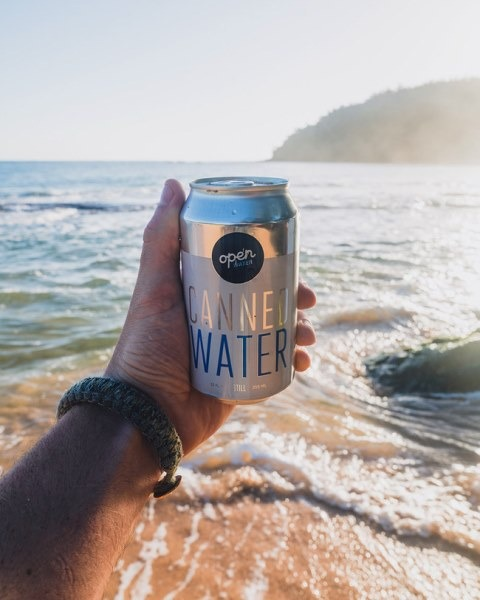 Open Water, World Surf League collaborate to eliminate plastic bottled water