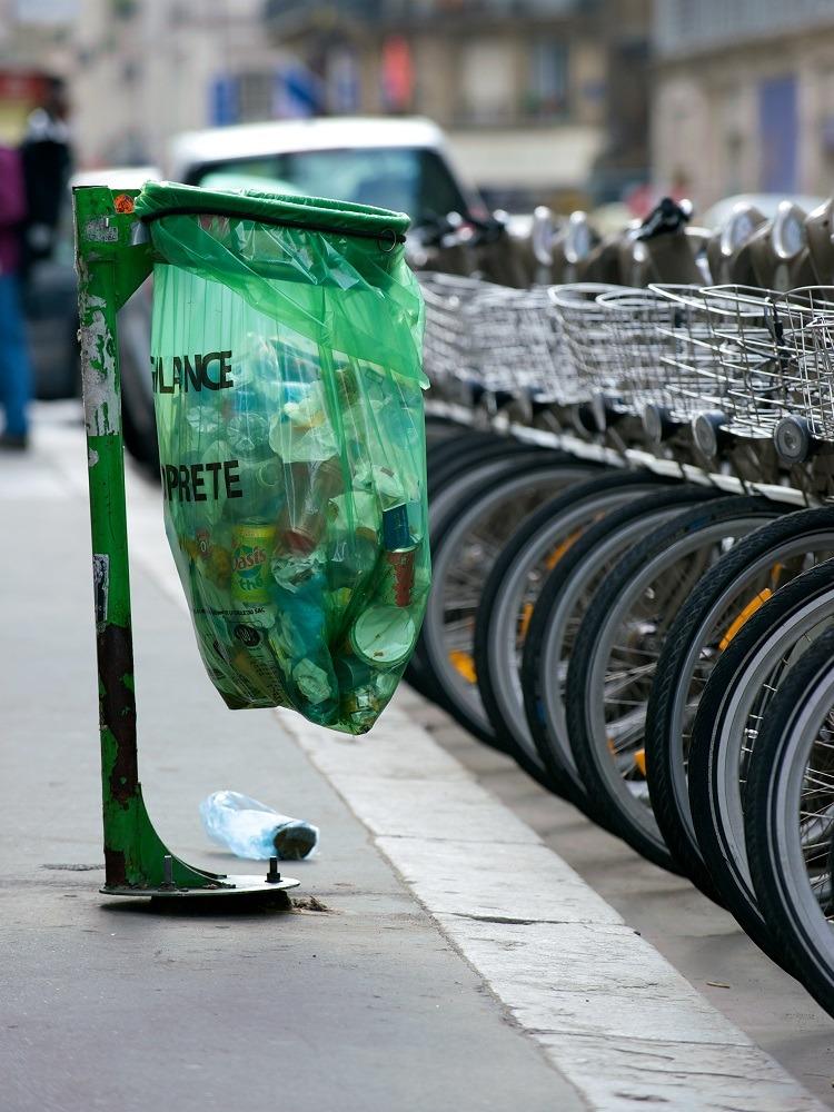 recycling paris