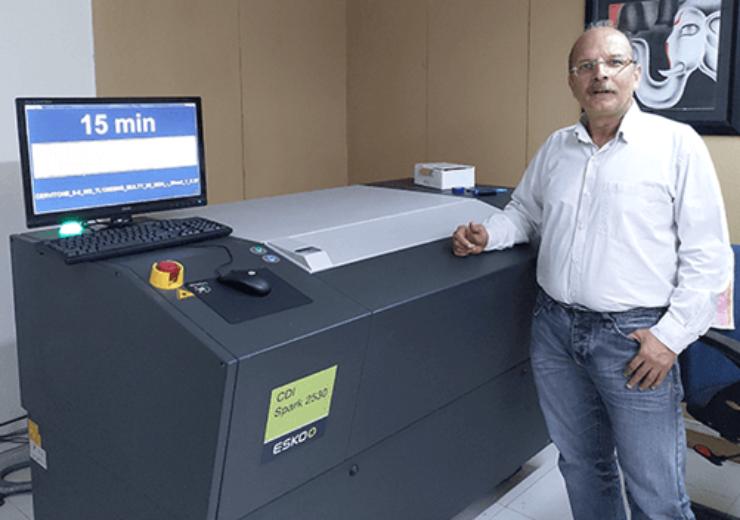 Indian label converter KEM Cards invests in Esko CDI Spark 2350 technology