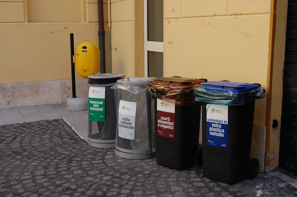 recycling rome
