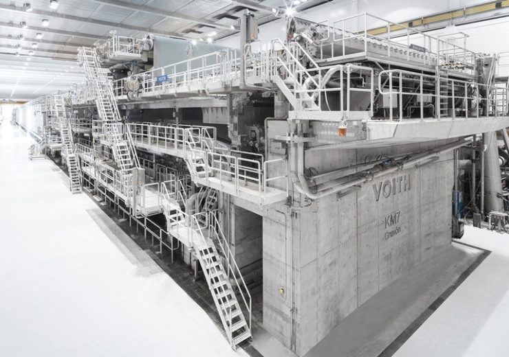 Voith commissions XcelLine BM 7 at BillerudKorsnäs paper mill in Sweden